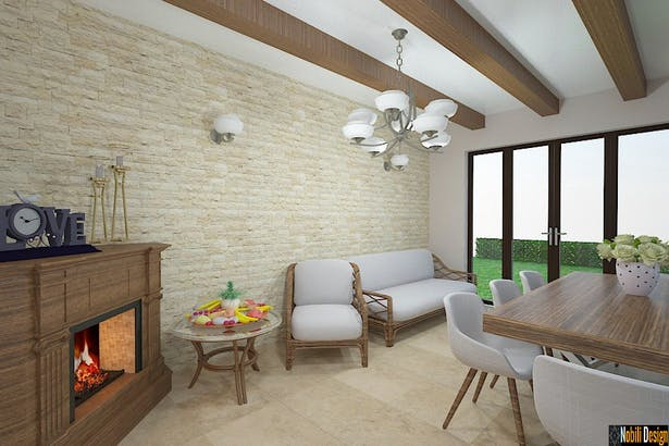 Interior design services for houses and flats