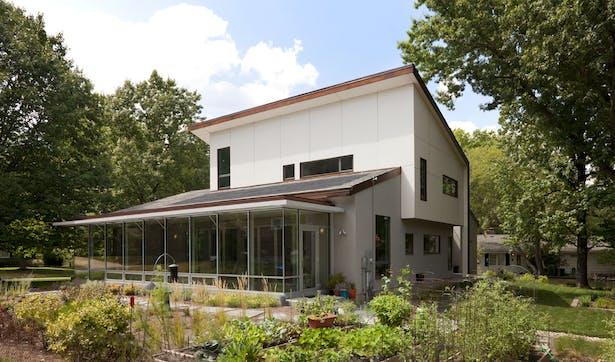 solarium and urban garden