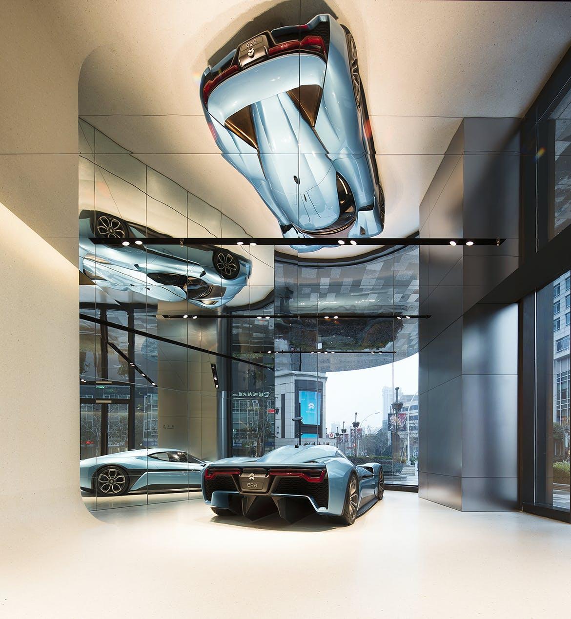 Automotive Showroom By Schmidt Hammer Lassen Architects Unifies Car