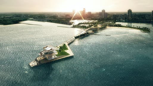 The New St. Petersburg Pier by ASD|SKY