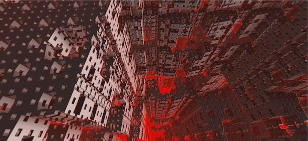 Kowloon Walled City, Hong Kong - artbybautista