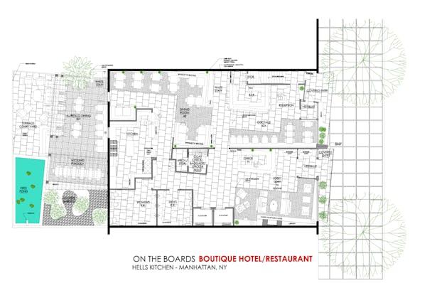 BOUTIQUE HOTEL/RESTAURANT