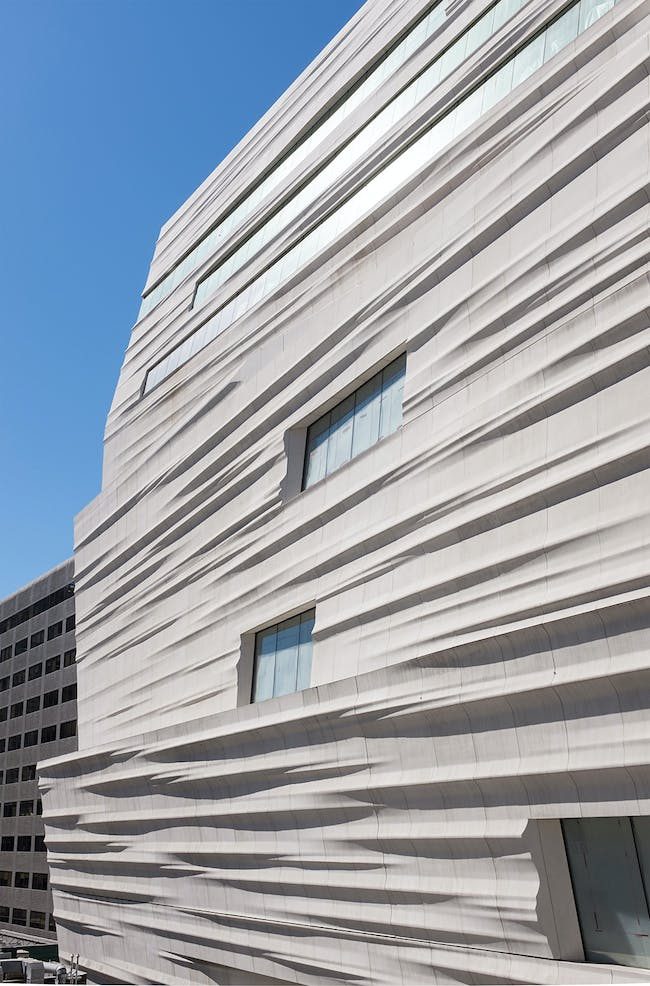 SFMOMA façade of Snøhetta expansion; photo: © Henrik Kam, courtesy SFMOMA.