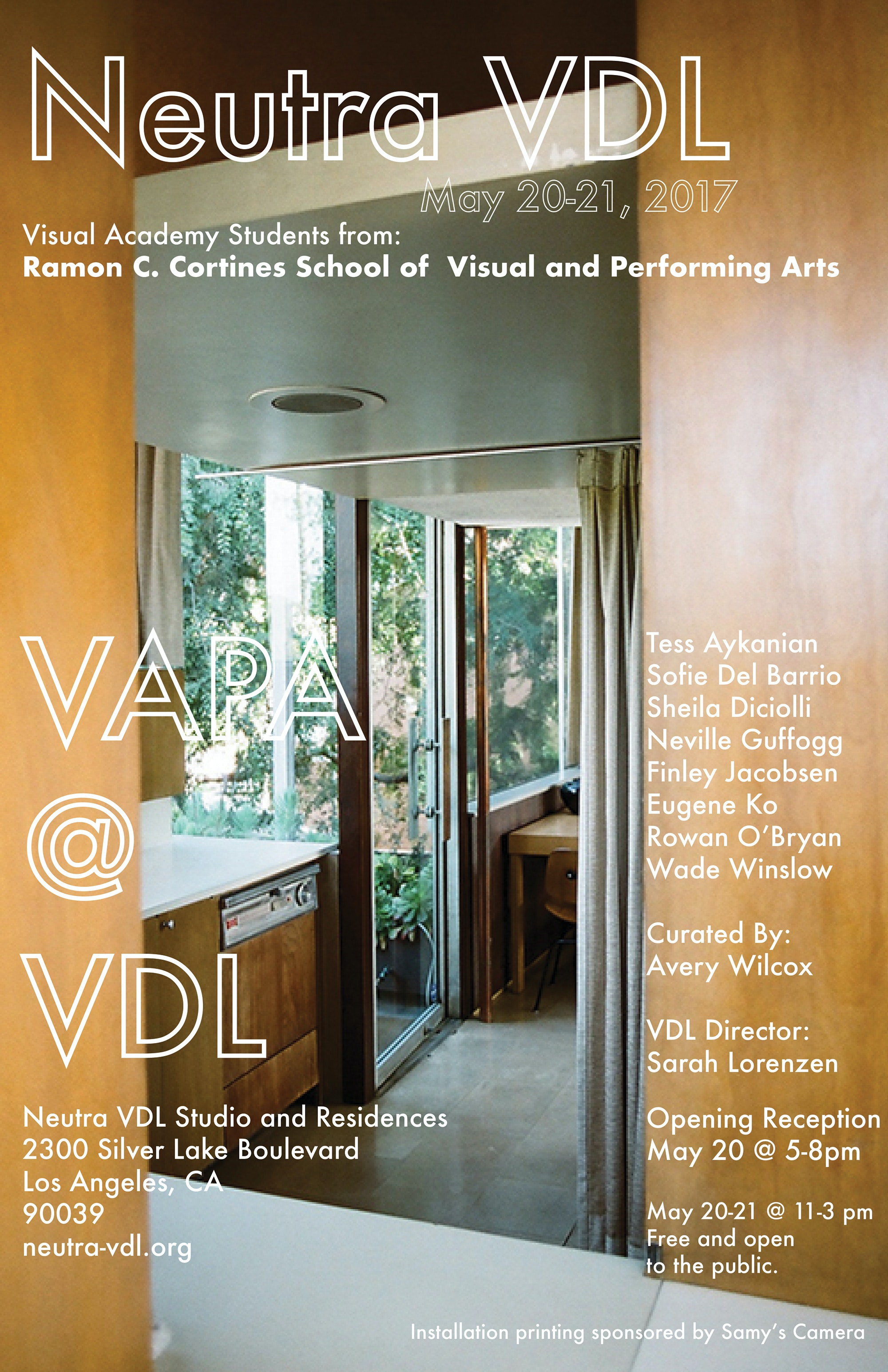 High School Students Interpret Neutrau0027s VDL House With Art