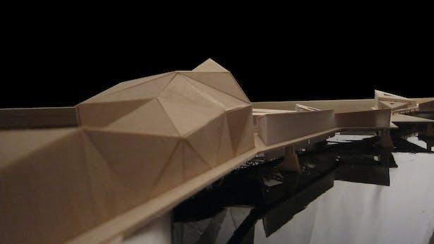 Urbanized Bridge 4-Hand Made-24'x 48'