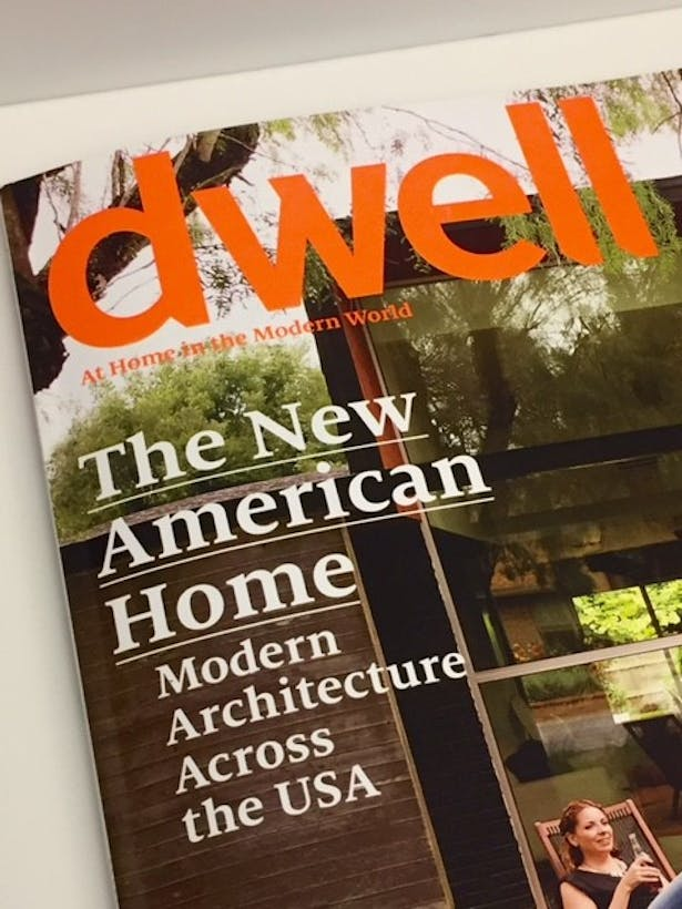 Published in dwell 2016