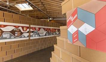 """""""Work on Work"""" exhibition turns public space into office space"""