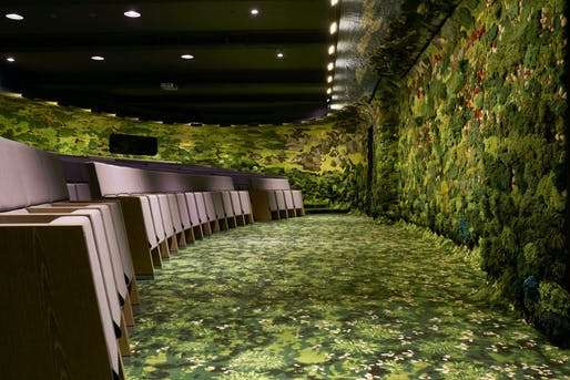 Best Craftmanship: Jut Group Lecture Hall, Taipei by MVRDV and Alexandra Kehayoglou Studio. Image: Frame Awards.