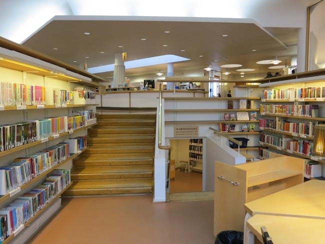 The Regional Library of Lapland. Interior Illumination.