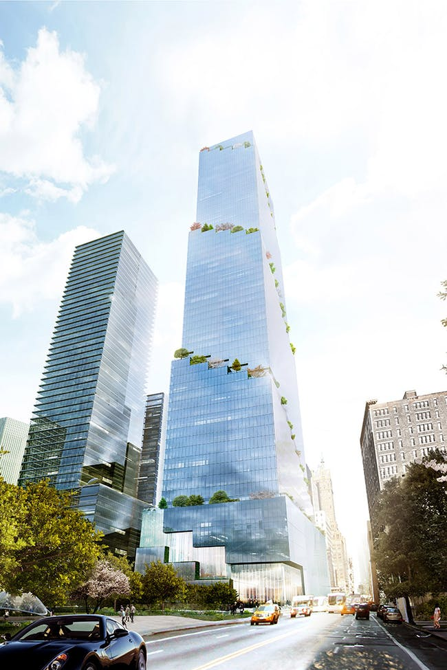 Bjarke Ingel's 'The Spiral' concept is moving forward as the developer Tishman Speyer filed plans this week. Image courtesy of BIG.