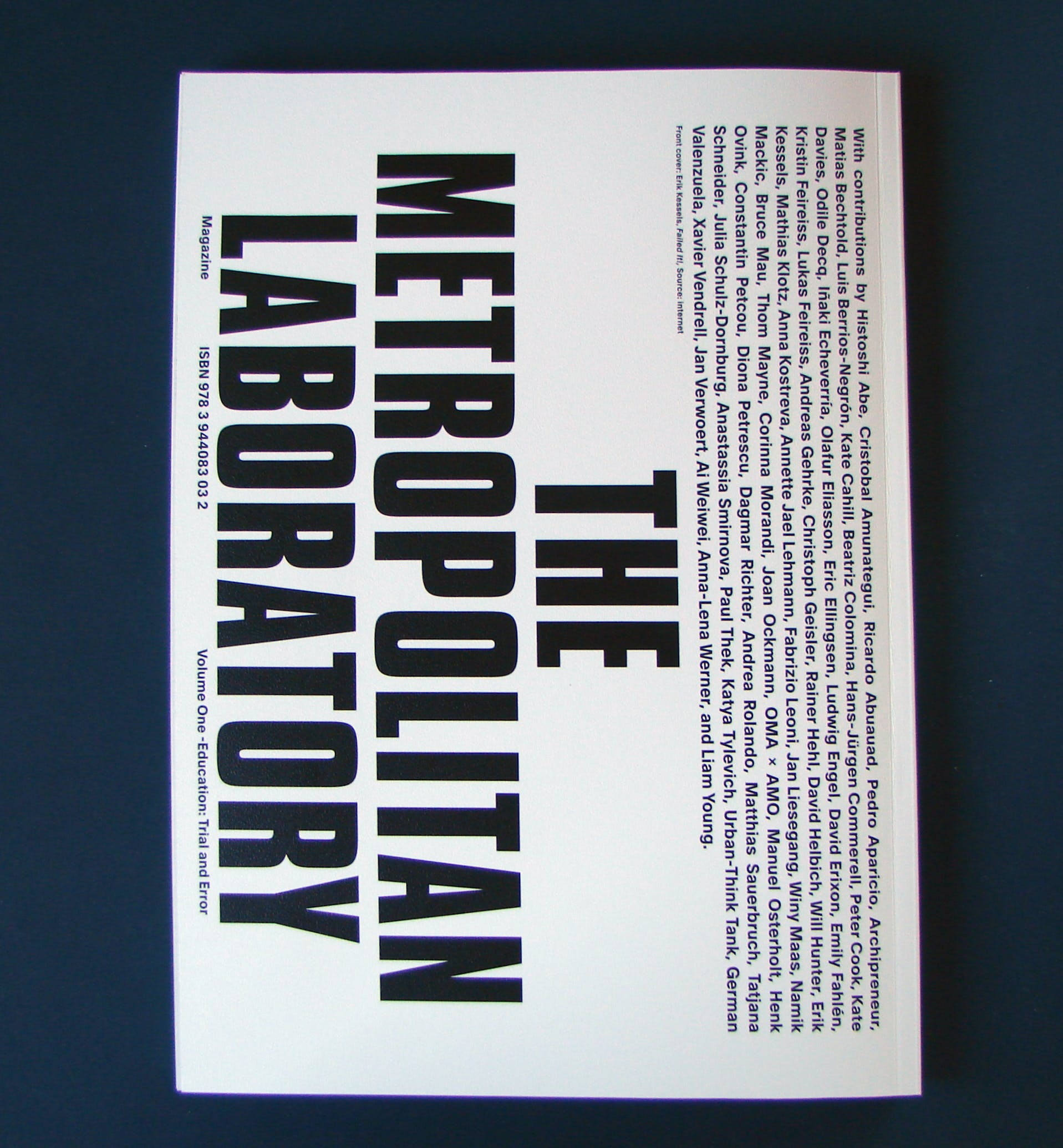 Screen/Print #44: 'Education: Trial and Error' from The