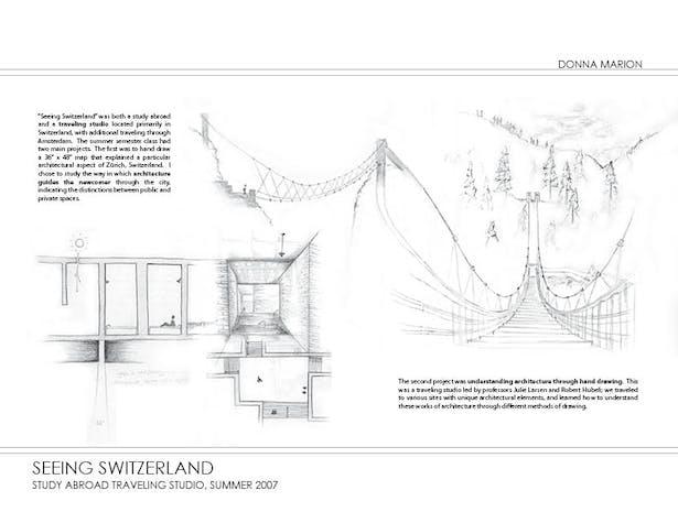 Seeing Switzerland - sketches