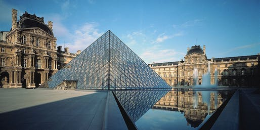 The Grand Louvre, Phase I - winner of the 2017 AIA Twenty-Five Year Award. Photo © Koji Horiuchi.