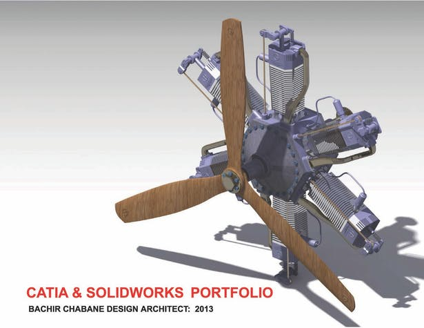 CATIA & SOLIDWorks Portfolio | BACHIR CHABANE | Archinect