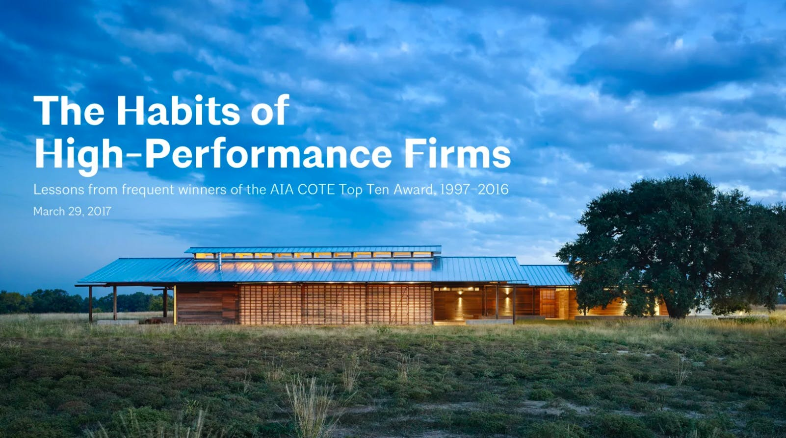 100 Top Architecture Firms 2016 Who U0027s Who In