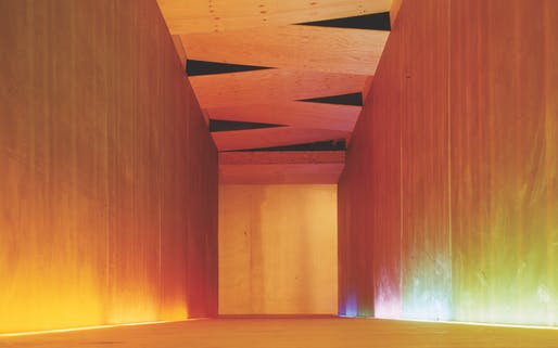 David Adjaye's Asymmetric Chamber. Image via adjaye.com.