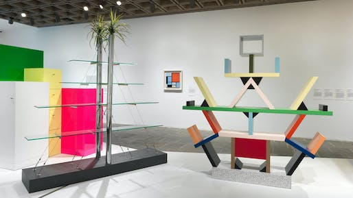 Ettore Sottsass: Design Radical exhibition view. Image courtesy The Met Breuer.