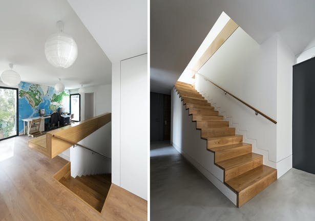study and staircase