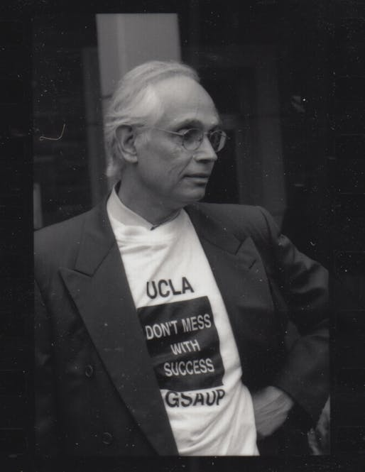 Richard Weinstein in 1994. Photo courtesy of UCLA School of Architecture and Urban Design.