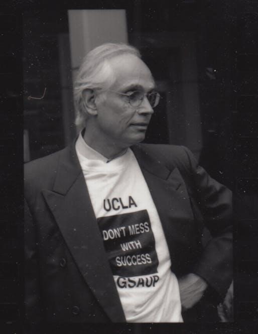 Richard Weinstein in 1994. Photo courtesy of UCLA School of Architecture and Urban Design.