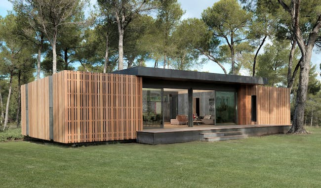 Pop-Up House in Aix-en-Provence, France by Multipod Studio