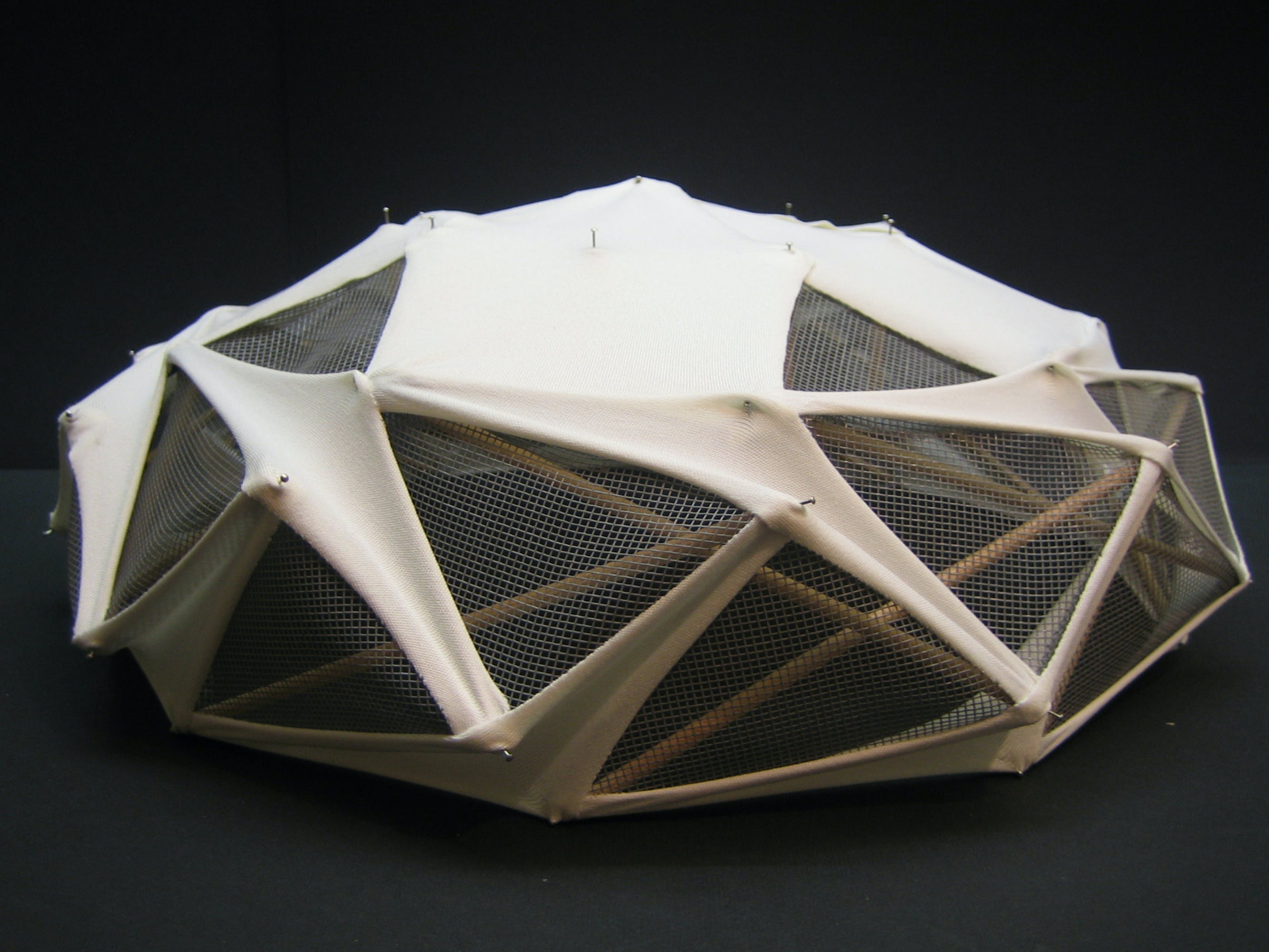tensegrity dome