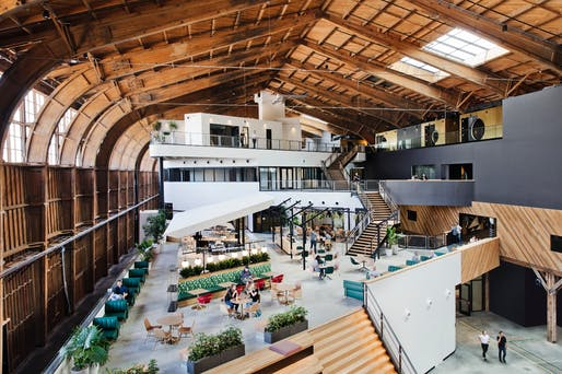 Google, Spruce Goose, Los Angeles | ZGF Architects LLP. Credit: Google Images by Connie Zhou.