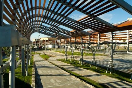 Circumvesuviana stations. Redevelopment. Naples, IT