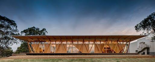 William E. Kemp Award for Educational Architecture: Macquarie University Incubator. Photo: Brett Boardman.