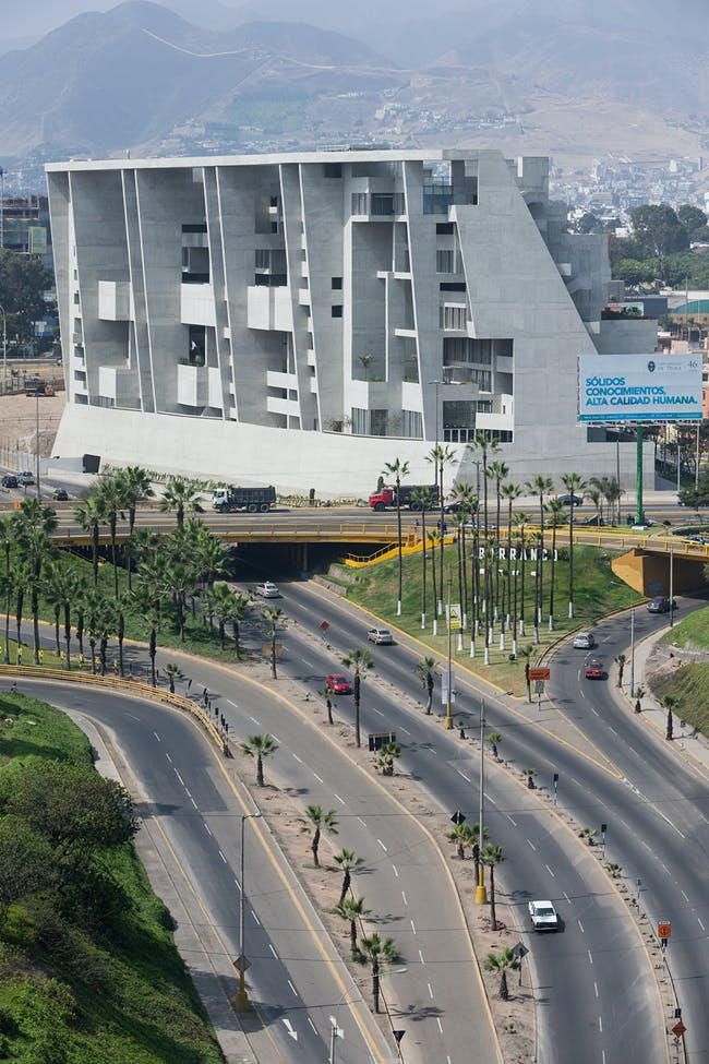 2014/2015 MCHAP Finalist: UTEC Campus by Grafton Architects, Lima, Peru. Photo: Iwan Baan.