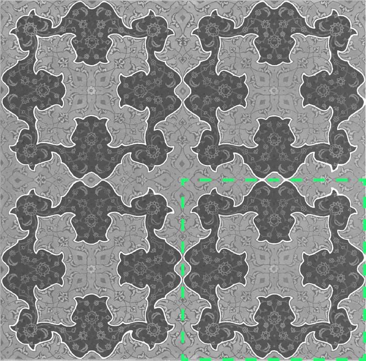 Corner pattern base module
