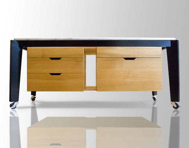 B+K Furniture Design inside Union Park townhouse in Boston, MA by Butz Klug Architecture