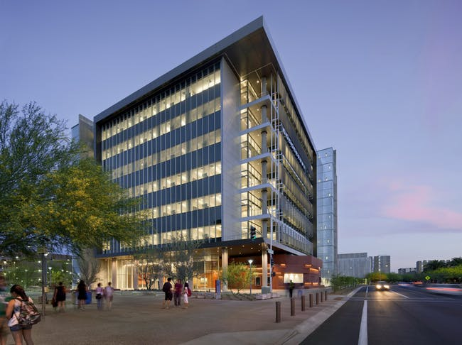 ASU School of Earth & Space Exploration, photo by Bill Timmerman, courtesy of Ehrlich Architects.
