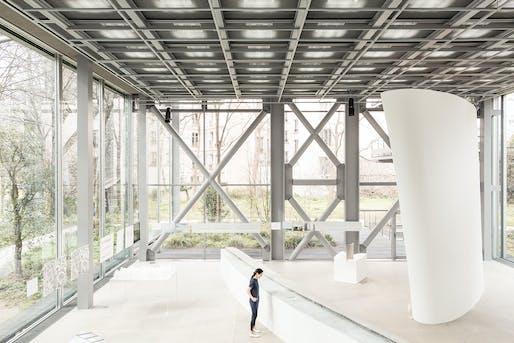 Freeing Architecture, Junya Ishigami exhibition. © Giovanni Emilio Galanello