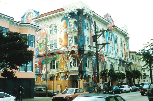 San Francisco Womens Building in the Mission District (via Wikipedia).