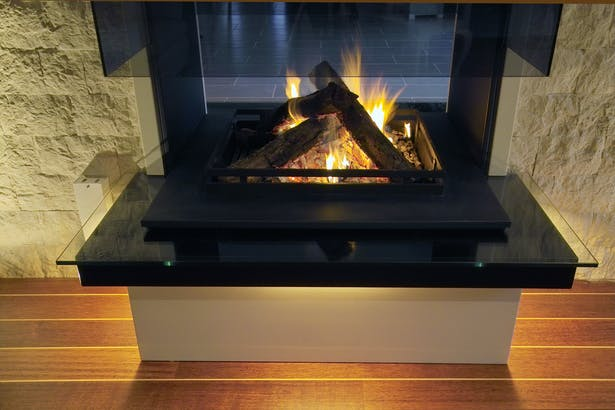 Bloch Design contemporary fireplace 6