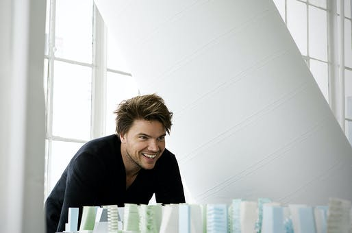 Bjarke Ingels, founder of Bjarke Ingels Group. Photo by Steve Benisty.