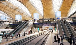Grimshaw and Arup release designs for new high-speed rail hub in central London