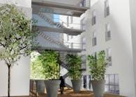 Rue Karman - collective housing