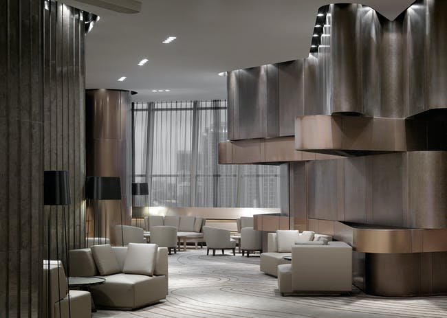 INSIDE World Festival of Interiors - Bars & Restaurants: Coastal Private Club, Hong Kong by One Plus Partnership.