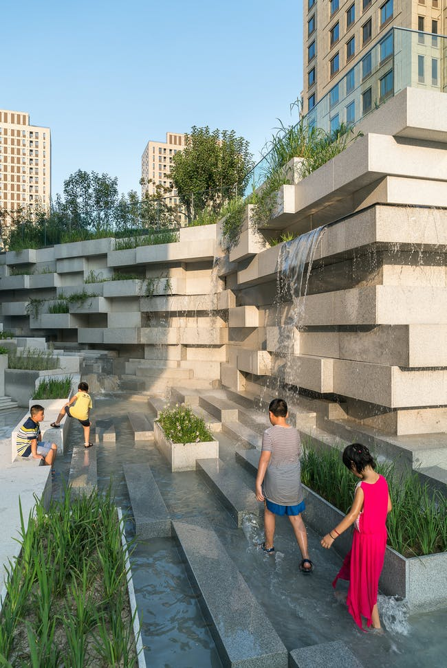 Beiqijia Technology Business District in Beijing, China by Martha Schwartz Partners; Photo: Terrence Zhang