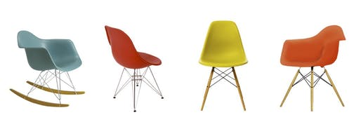 Classic, for a reason: Eames chairs