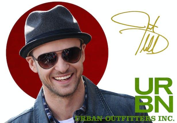 Urban Outfitters Inc. - Justin Timberlake