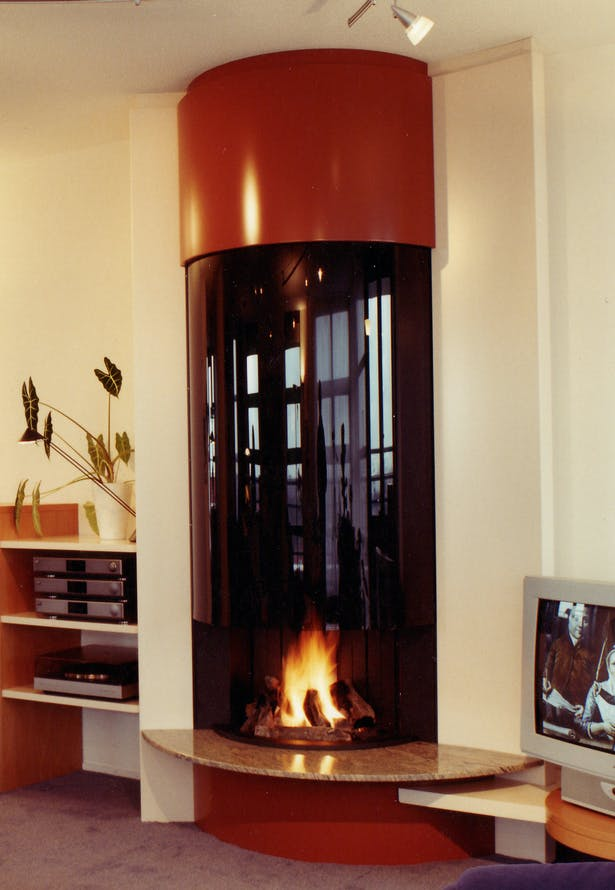 Bloch Design contemporary fireplace