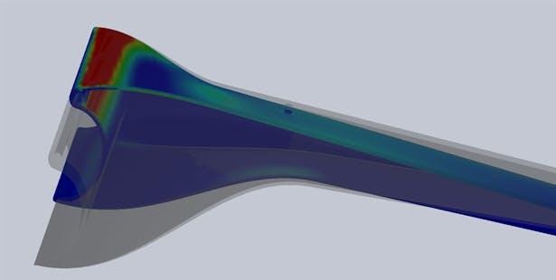 Pancu Residence - FEA Results (Image: CRAFT   Engineering Studio)