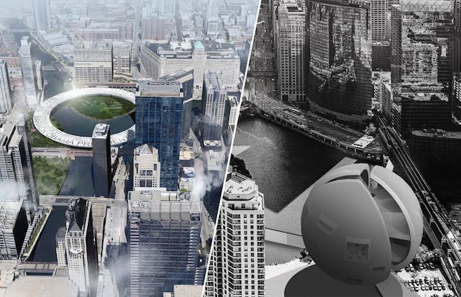 2014 Chicago Prize: The Barack Obama Presidential Library Design Competition winners.