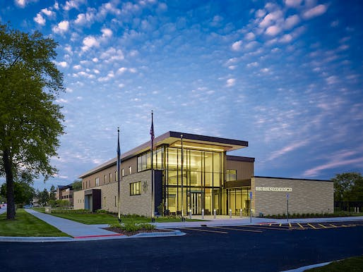 Silver Award: Glen Ellyn Police Station, Glen Ellyn, IL by Dewberry