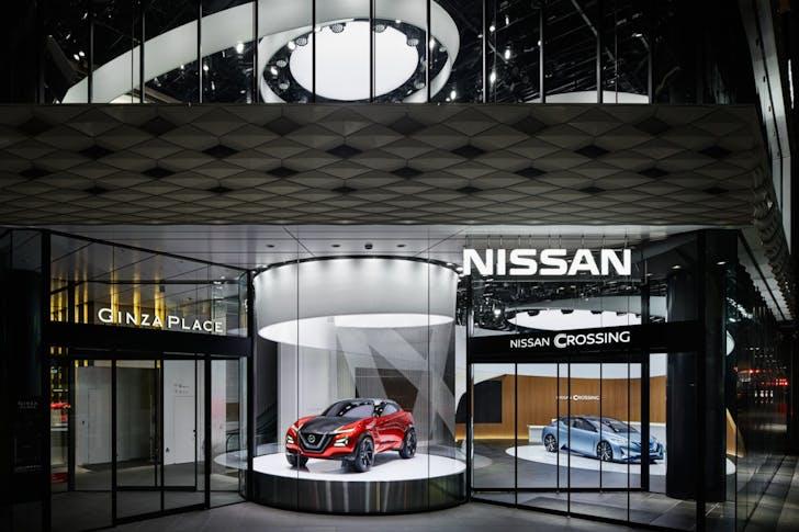 Nissan Crossing.
