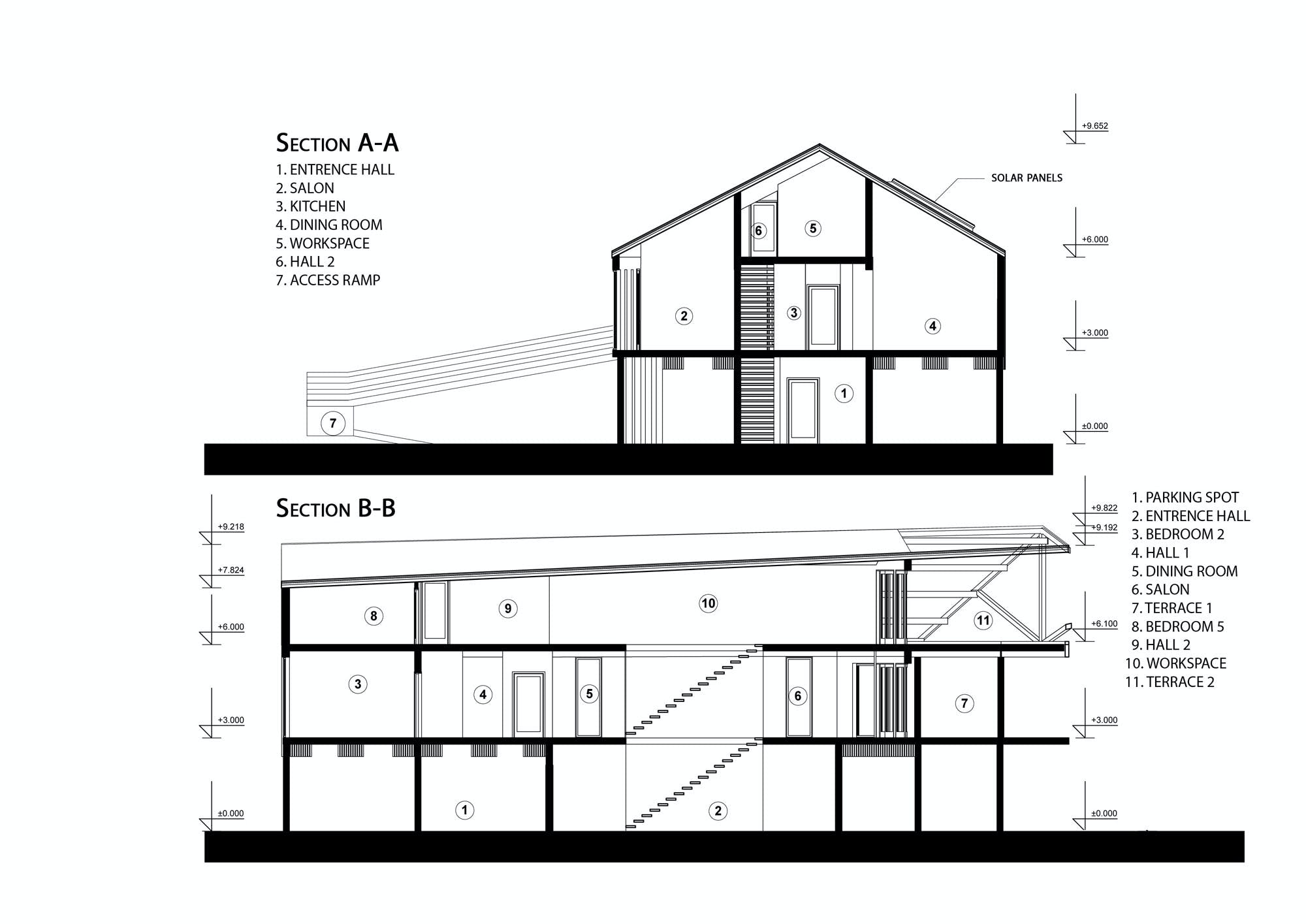 house on stilts stepan jevtic archinect