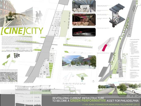 Honorbale Mention in the 111th John Stewardson Memorial Fellowship in Architecture 2012